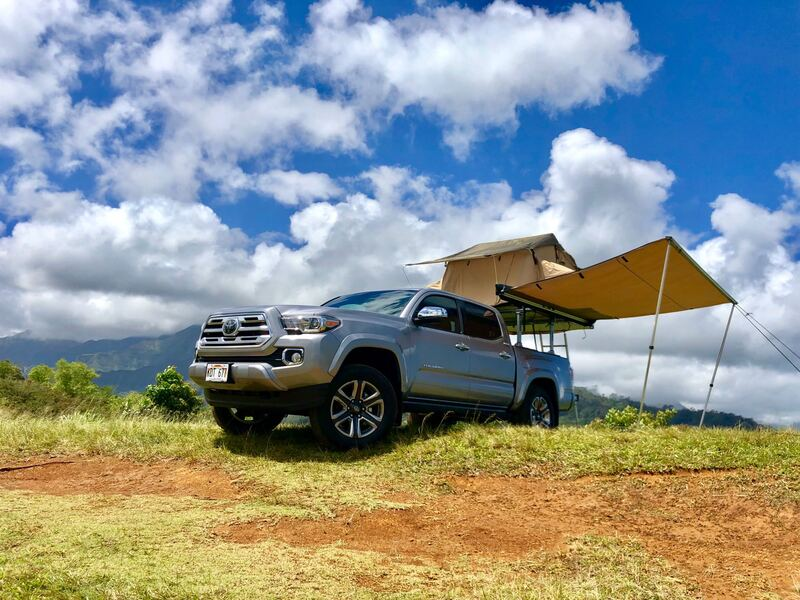 Best Truck Camper Rental Hawaii Ext