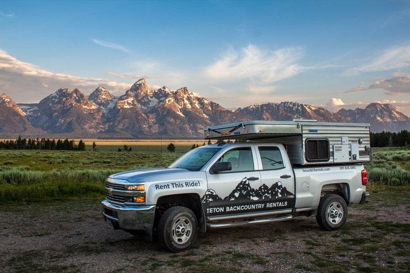Best Truck Camper Rental Idaho Falls Ext