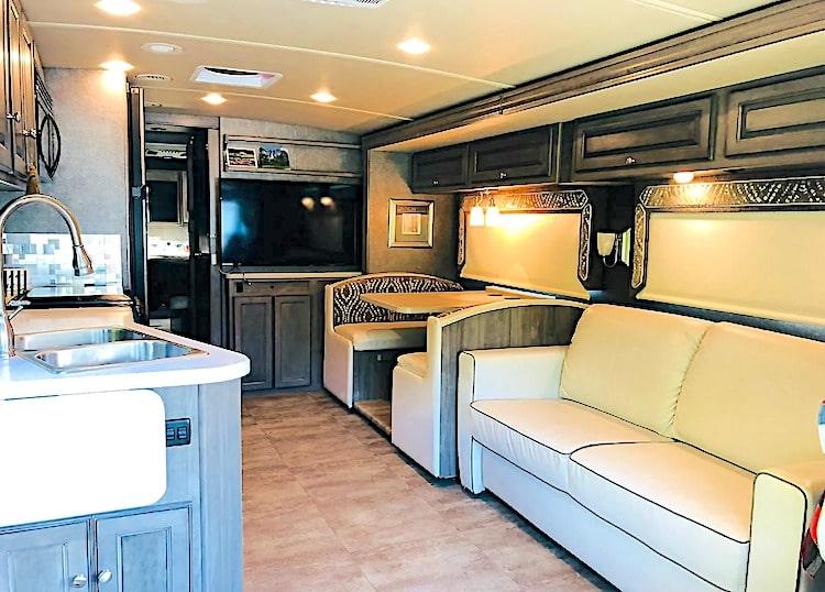 Class A Motorhome rental austin tx
