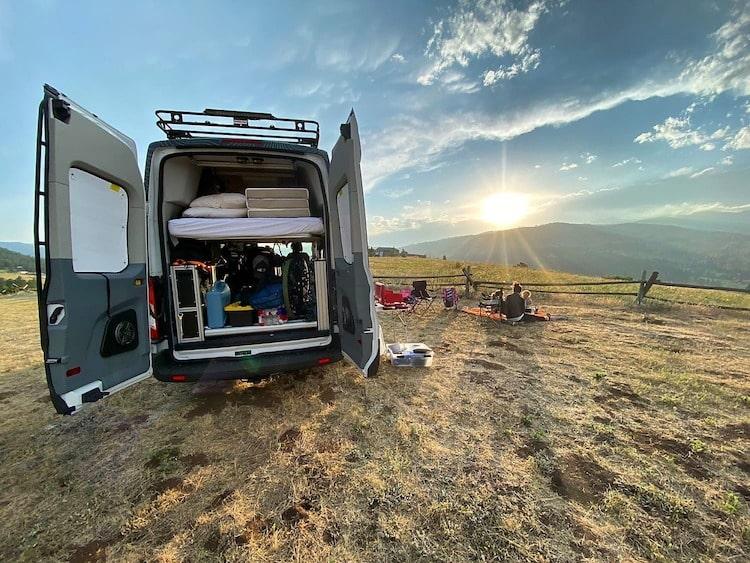 Class B Campervan rental memphis