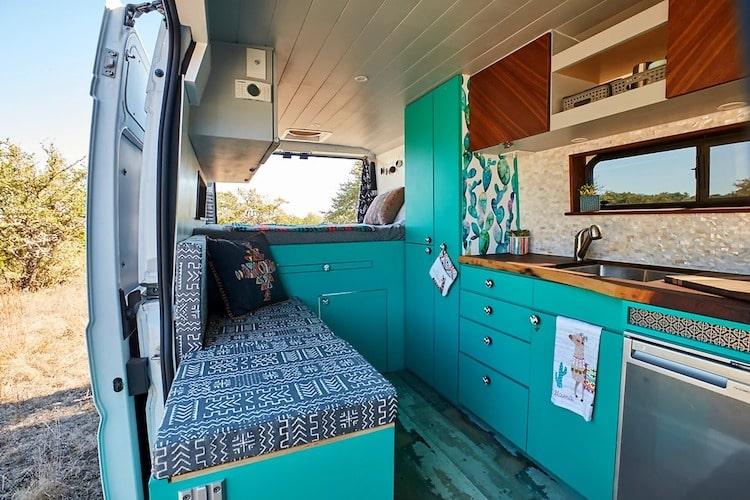 Class B RV camper van rental Austin