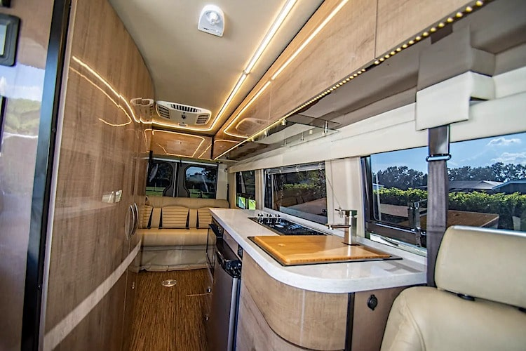Class B motorhome rental Tampa FL