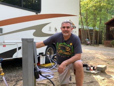 How to Setup Your RV Campsite for Beginners Water, Sewer, Electric, and Gear PLUS a Newbie Checklist!