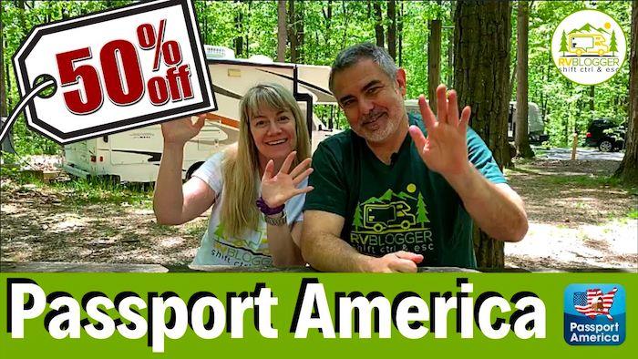 Passport America Discount Camping Club save 50%