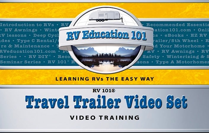 Travel Trailer Training Video Bundle Set