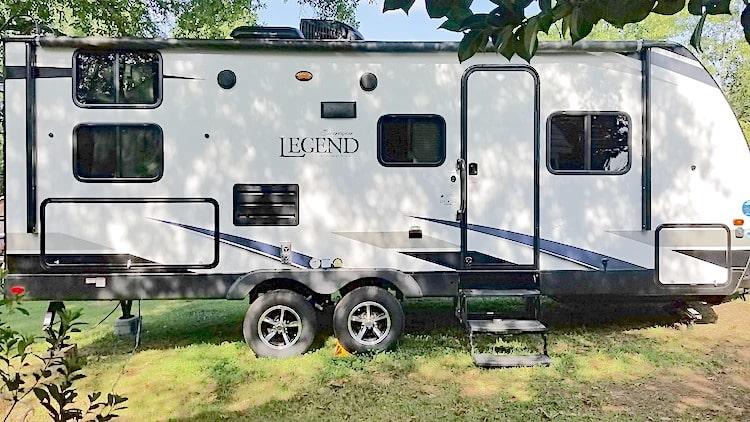 Small Travel Trailer rental greenville