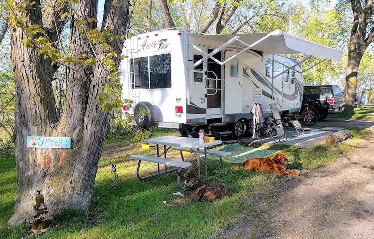 Travel trailer rv rental yosemite