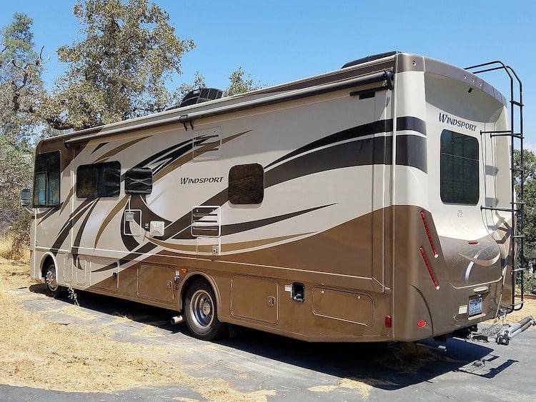 Yosemite RV Rental Class A Motorhome