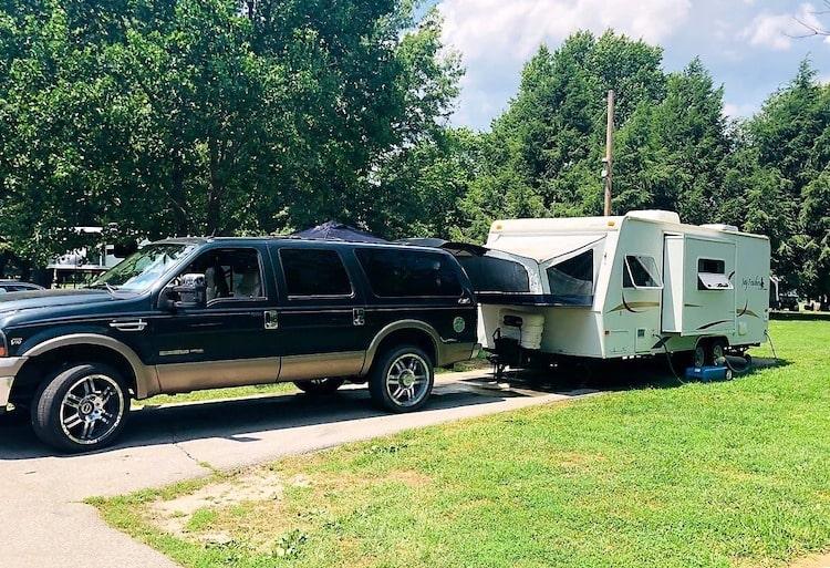 hybrid travel trailer RV rental lexington KY