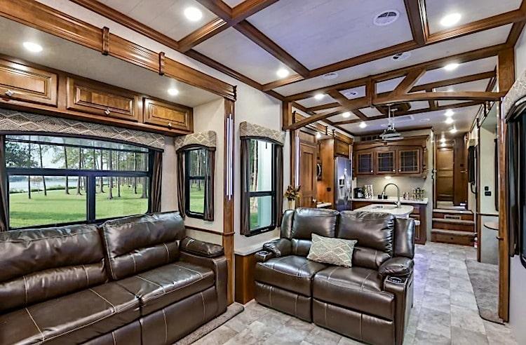 luxury 5th wheel rv rental austin tx