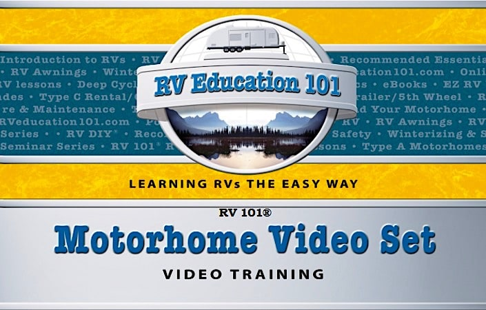 motorhome trainig video set