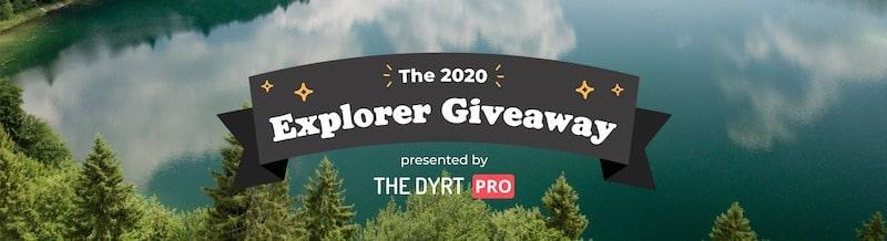 the dyrt pro explorer giveaway