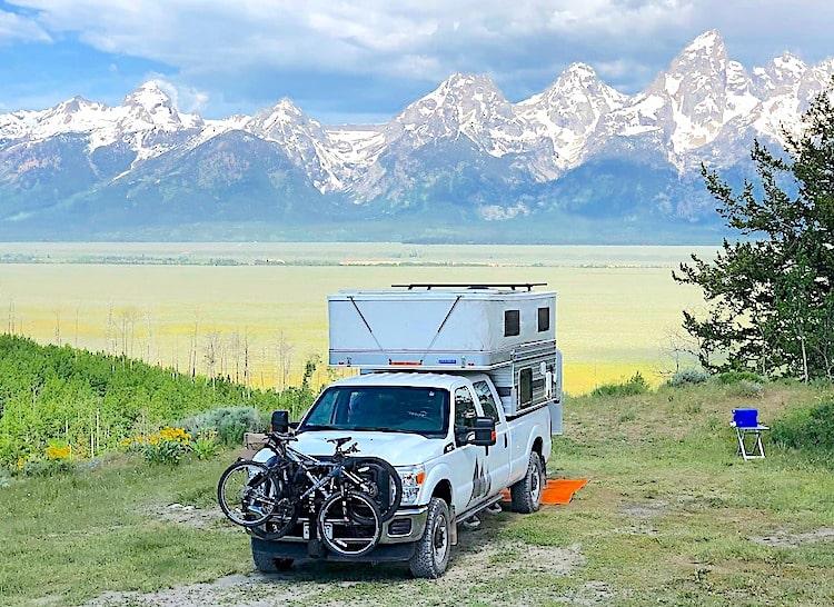 truck camper RV rental grand junction co