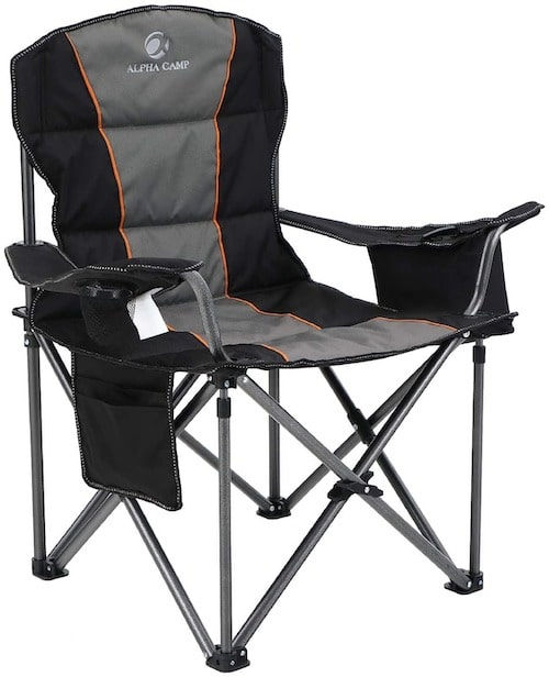 ALPHA CAMP Oversized Camping Folding-Chair