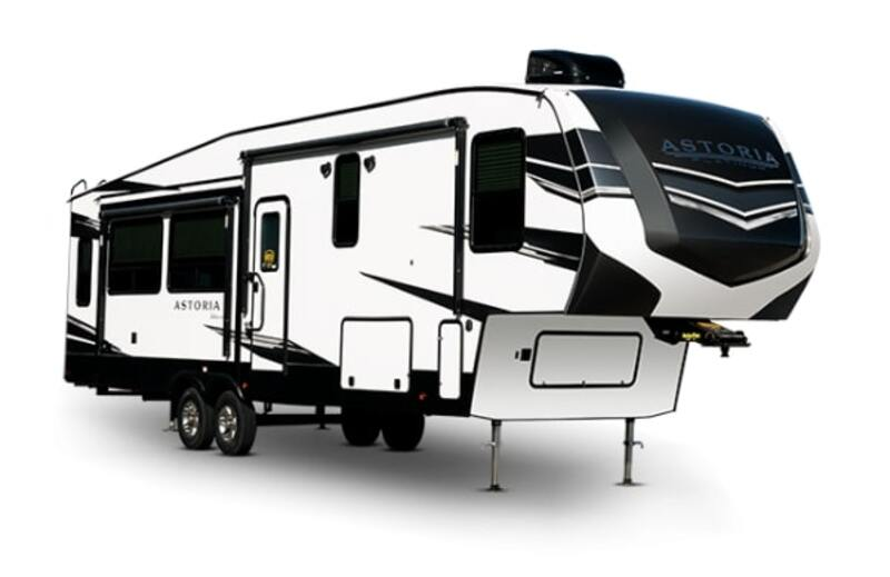 Awesome 5th Wheels with 2 Bedrooms