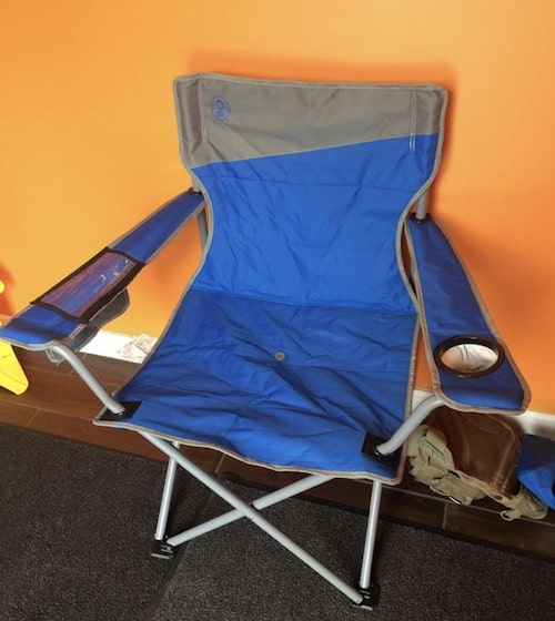 Coleman Big N Tall Oversized Quad Camping Chair