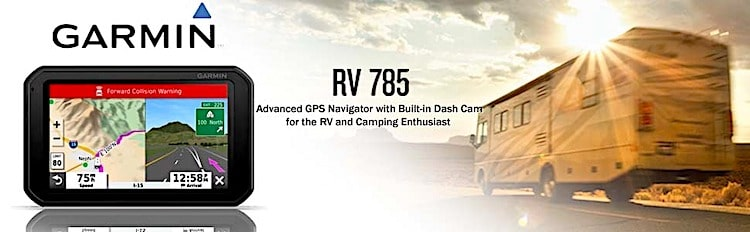 Garmin RV GPS with Dash Camera