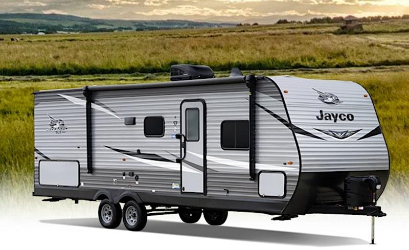 Jayco Jay Flight SLX 8 265RLS travel trailer under 7000 lbs