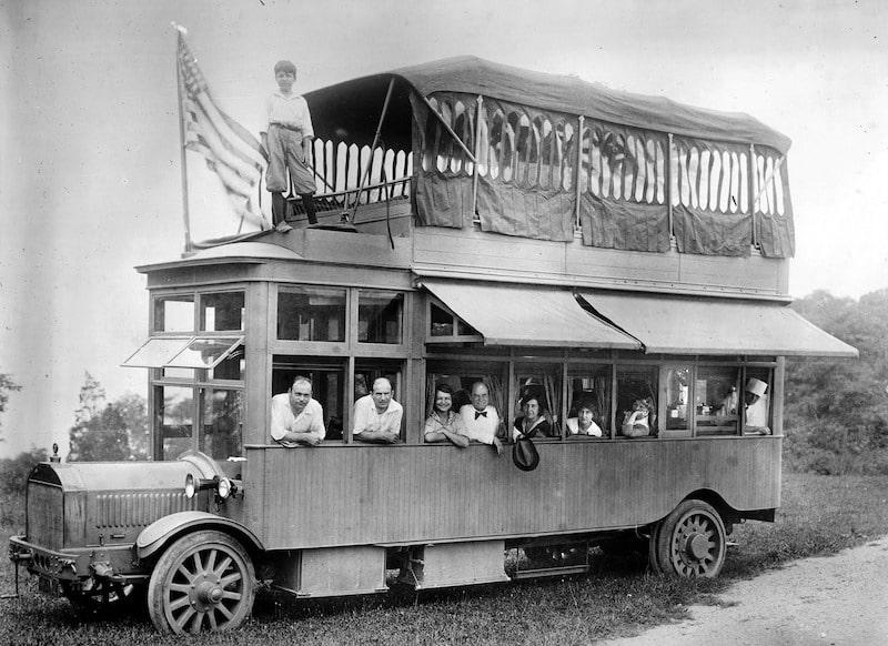 1915 Conklin Gypsy Van