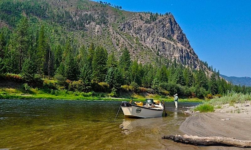 Clark Fork River in MIssoula Montana