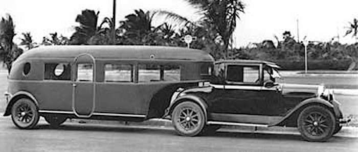 Curtiss Aerocar 5th wheel Trailer