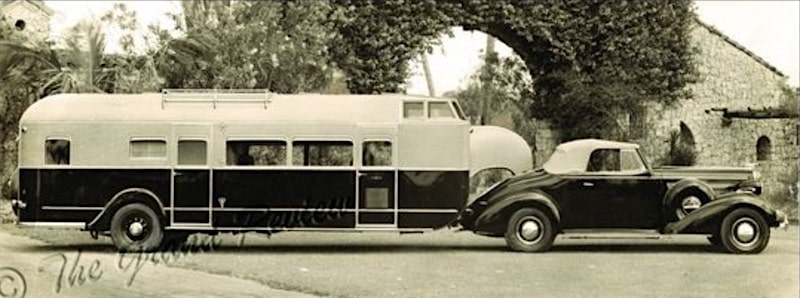 Curtiss Aerocar history of rvs and campers