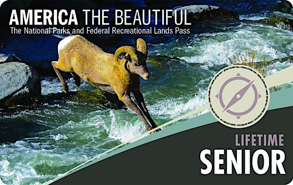Senior Lifetime National Park Pass