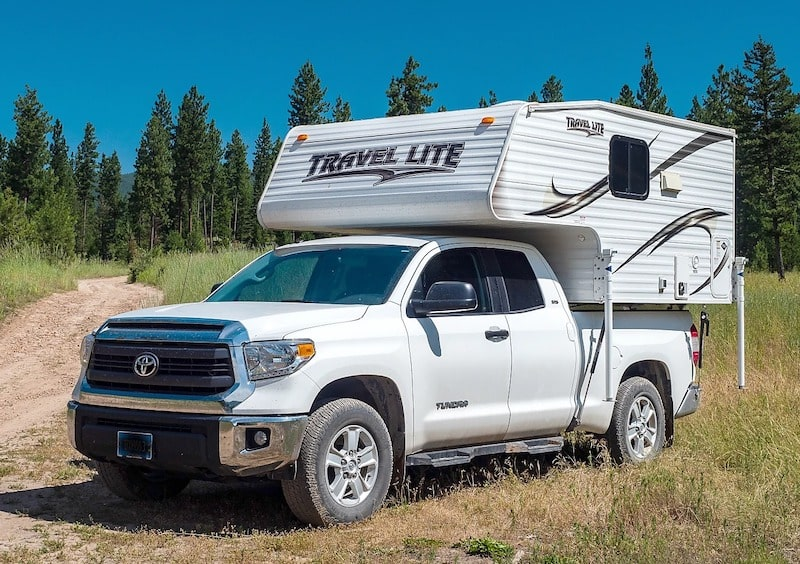 Truck Camper Missoula RV Rental
