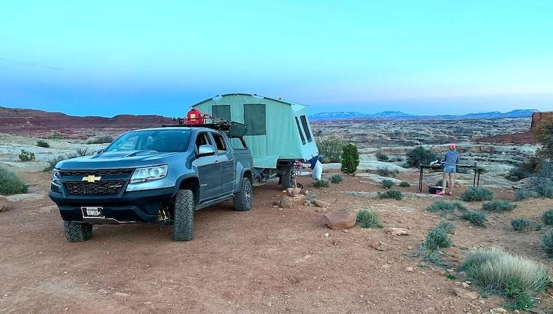 pop up camper rental missoula Montana