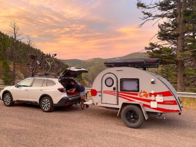 small teardrop Missoula RV Rental