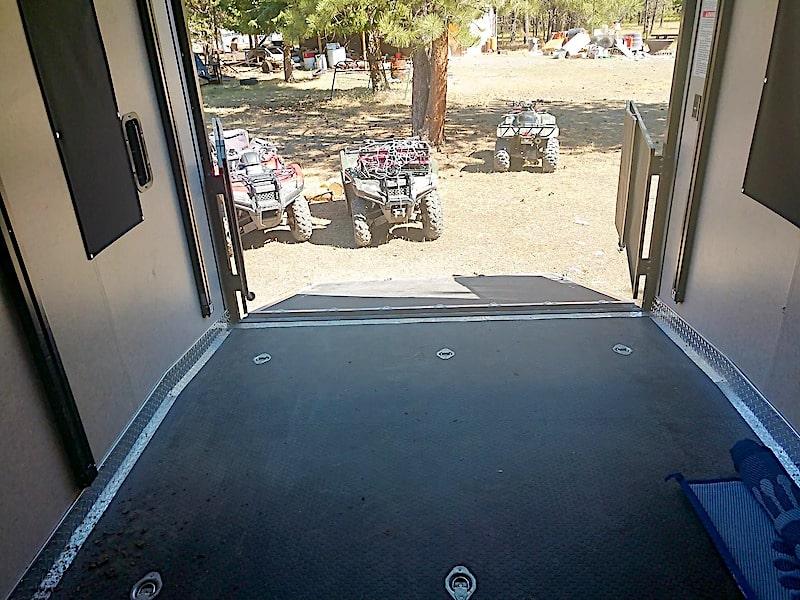 toy hauler camper rental Missoula MT