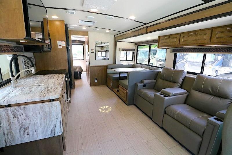 Class A Motorhome RV Rental Huntsville Alabama