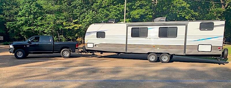 Large Travel trailer Rental Huntsville, AL