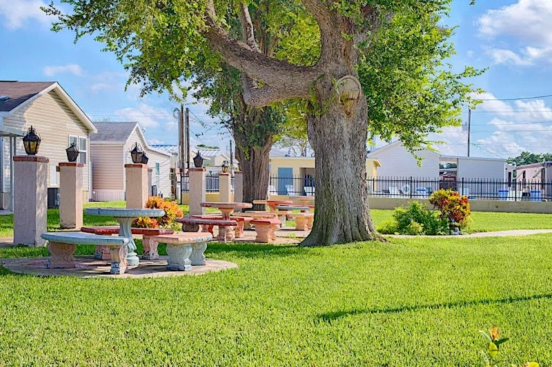 Mission Bell Trade Winds RV Resort for seniors