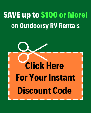 Outdoorsy RV Rental Discount Code