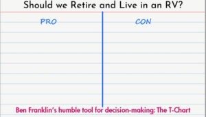 The Pros and Cons list of Retiring in an RV