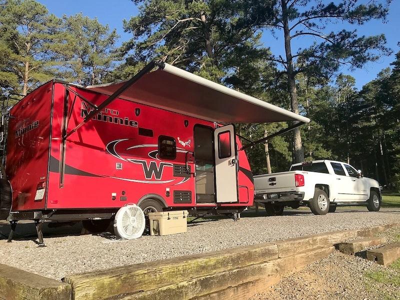 Small RV trailer Rental Huntsville Alabama