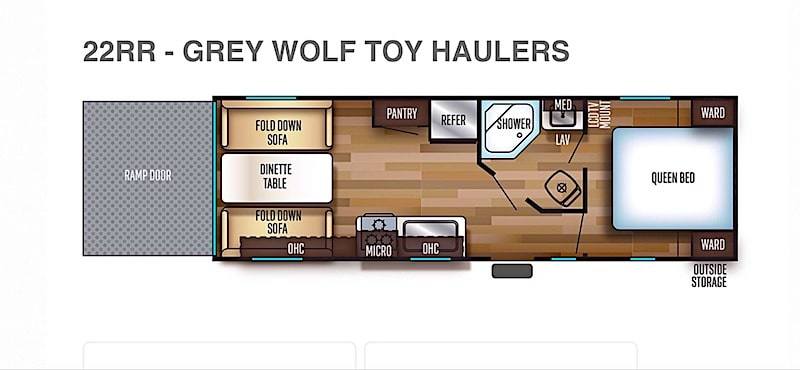 Toy Hauler Trailer rental syracuse NY