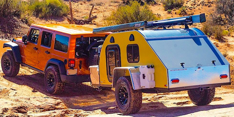 10 Great Camper Trailers You Can Tow with a Jeep Wrangler