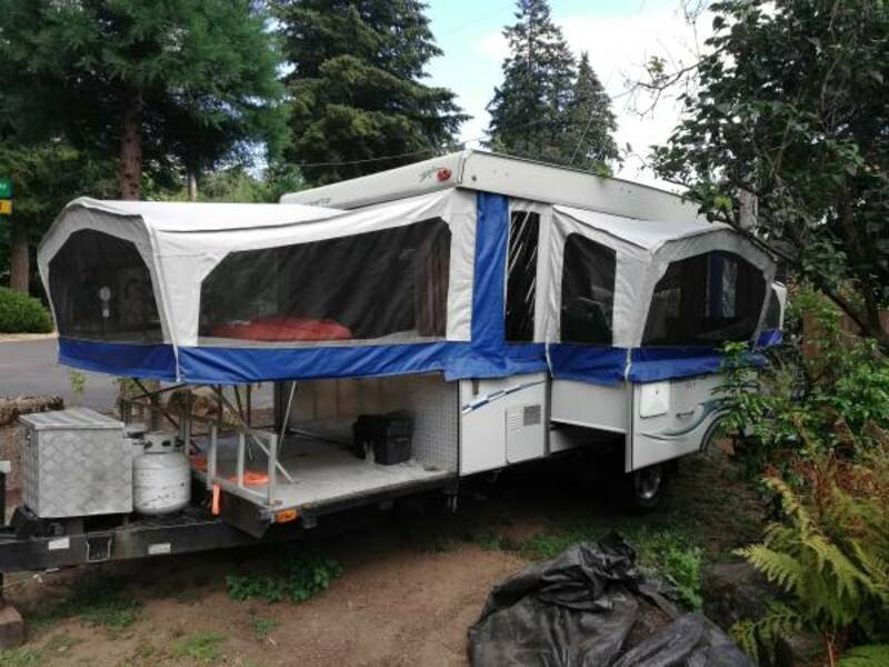 Best Folding Tent Camper Rental Ext Vancounver