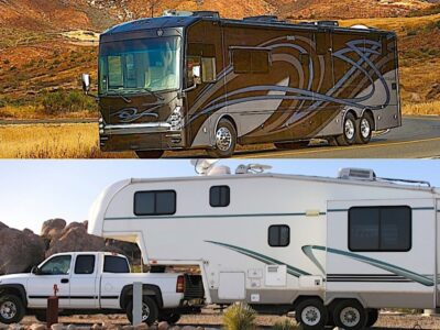 Fifth Wheel vs Class A Motorhome - Pros and Cons to Help You Choose Before You Buy