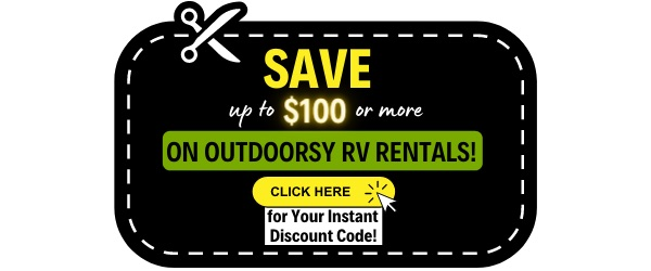 Outdoorsy RV Rentals Discount Code