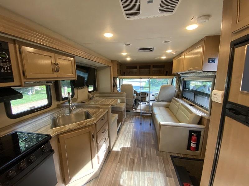 Best Class A RV Rental New Hampshire Int