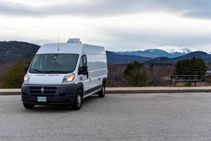 Best Class B RV Rental New Hampshire Ext