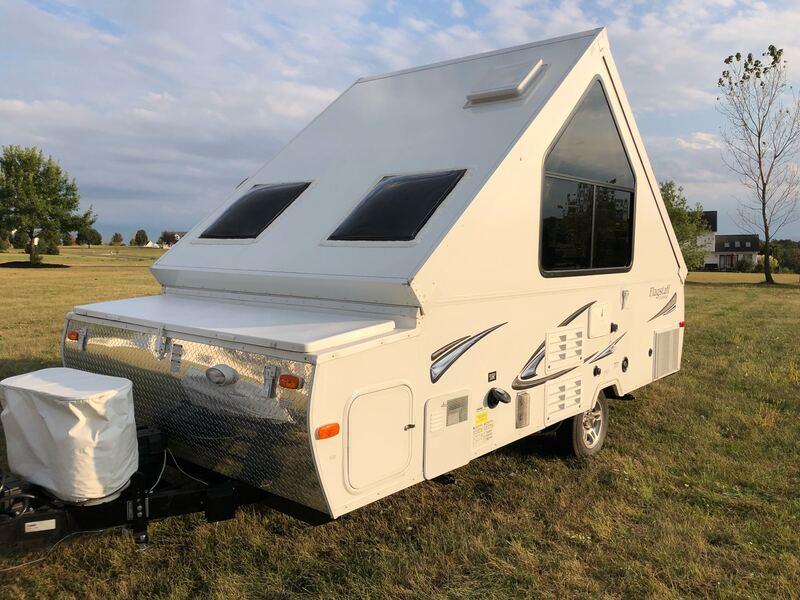 Best Folding Tent Camper Rental Cleveland Ext