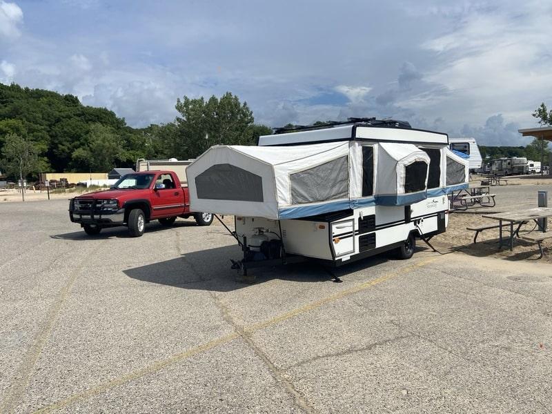 Best Folding Tent Camper Rental Grand Rapids Ext