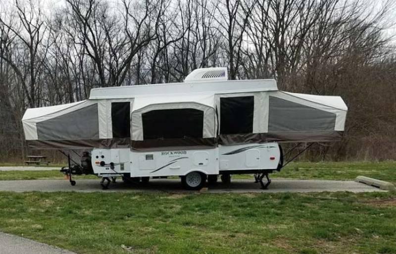 Best Folding Tent Camper Rental Indiana Ext