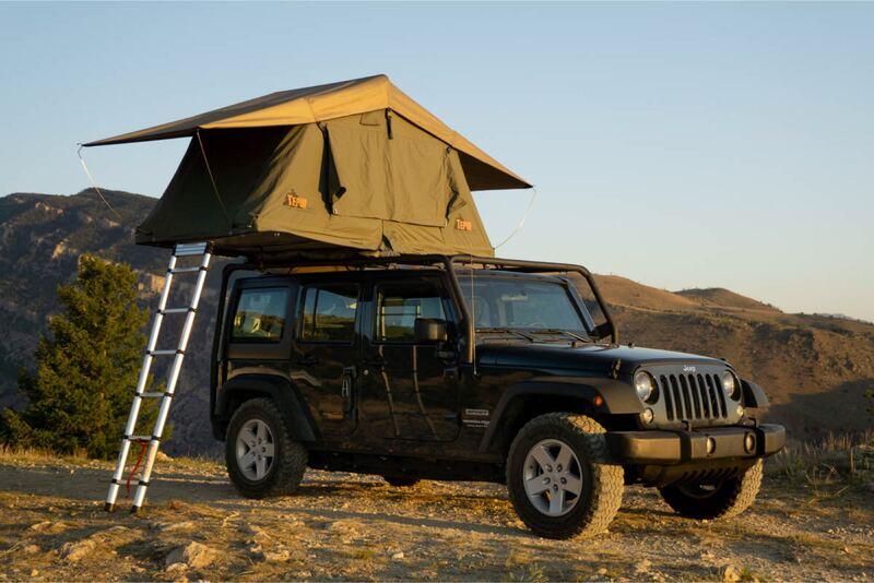 Best Rooftop Tent Camper Rental Bozeman Ext