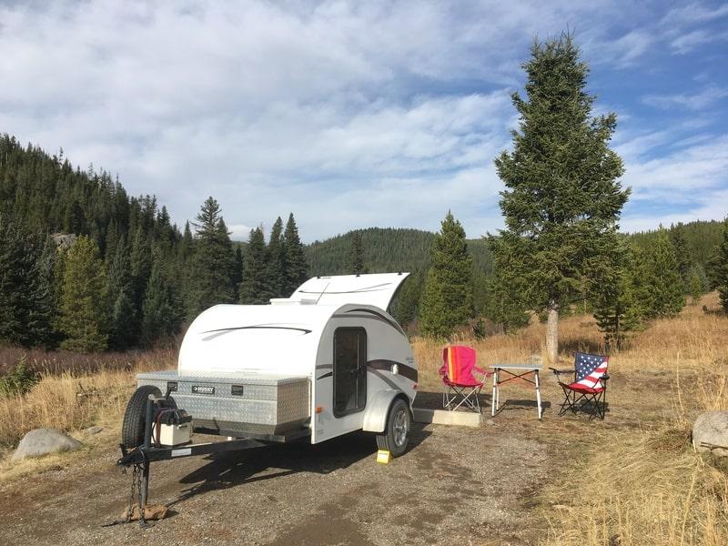 Best Teardrop Camper Rental Bozeman Ext