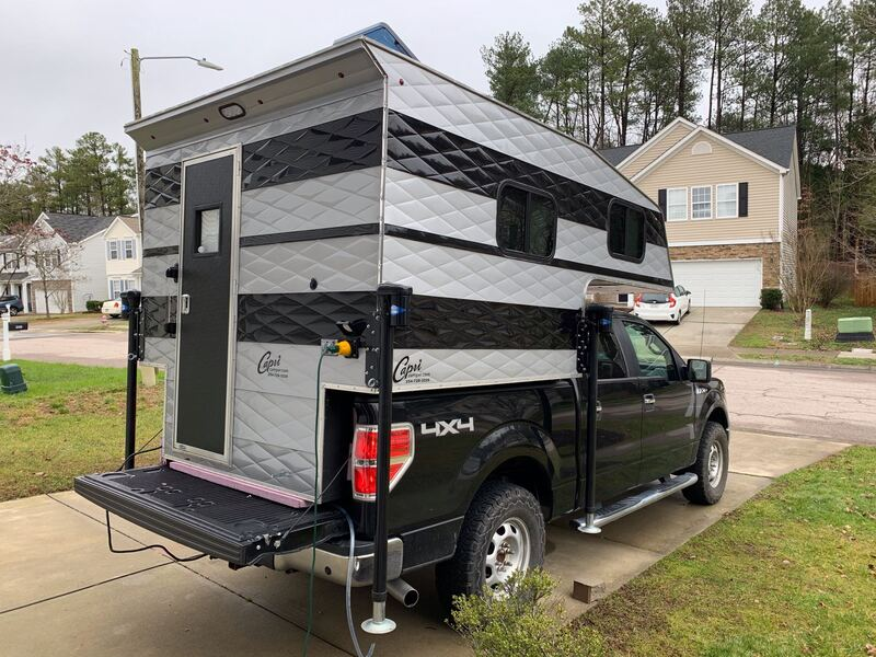 Best Truck Camper Rental Raleigh Ext